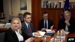 Razgovori Beograda i Prištine u Evropskom savetu (arhivski snimak)