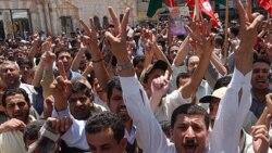 تظاهرات به اردن رسید