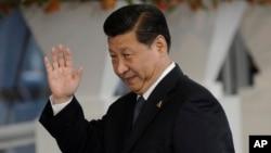 시진핑 중국 국가주석이 네덜란드 헤이그에서 열린 핵안보정상회의에 참석했다.