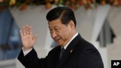 中国国家主席习近平3月25日在海牙