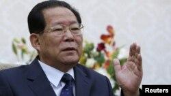북한의 김형준 러시아 주재 대사. 러시아 외무부는 최근 북한이 로켓 발사를 예고한 것과 관련해, 4일 김 대사를 불러 긴장 고조 행위를 자제할 것을 촉구했다. (자료사진)