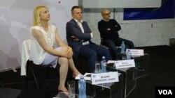 """Učesnici tribine """"Nejednakost kao globalni izazov - pogled sa Balkana""""."""
