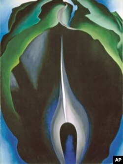 Jack-in-the-Pulpit No. IV, 1930 by Georgia O'Keeffe
