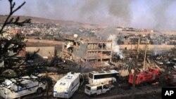 Şırnak'ın Cizre ilçesinde 2016'daki operasyonlar ve sokağa çıkma yasağı ilanları sonrasında çok sayıda bina harabeye dönmüştü
