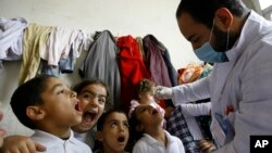 Mideast Lebanon Syria Refugees Vaccination