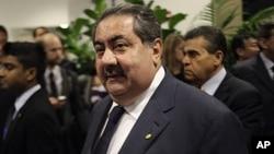 Menlu Irak Hoshyar Zebari yakin bahwa konflik di Irak tidak akan memicu perang sektarian atau perang saudara besar-besaran (foto: dok).