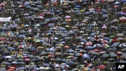 Thousands of people have over the years attended each burial ceremony at the National Heroes Acre. (Photo: AP)