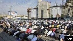 Rusiyada on minlərlə müsəlman Ramazan bayramını qeyd edir