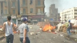 Pre-Election Violence Kills At Least 11 in Egypt's Capital