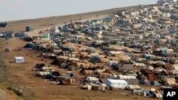 یکی از اردوگاه های پناهندگان سوری در ترکیه
