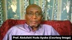 Dr Hudu Abdullahi Ayuba, professeur de sciences politiques à l'université Ahmadu Bello