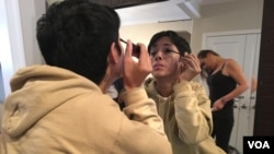 Gabriela Pineda es una de las 13 migrantes que llegaron a Washington D.C. después de cruzar la frontera con México. [Foto: Alejandra Arredondo]