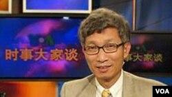 加州克莱蒙特·麦肯纳学院教授裴敏欣(美国之音网路截图)