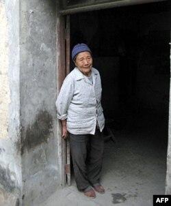 安顺场的禹凤英老人
