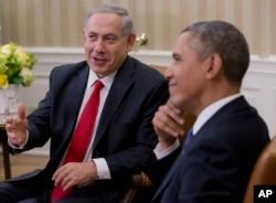 Barak Obama və Benyamin Netanyahu