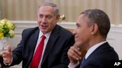 Биньямин Нетаньяху и Барак Обама