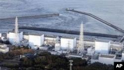 日本受损的福岛核电站