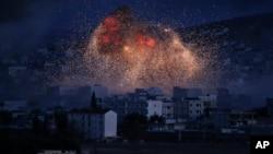 Một cuộc không kích nhắm vào mục tiêu của tổ chức Nhà nước Hồi giáo.