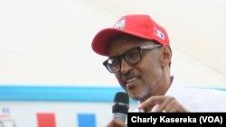 En images : fin de la campagne électorale au Rwanda