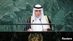 Adel Ahmed al-Jubeir, ministro de relaciones exteriores de Arabia Saudí. Foto de archivo.