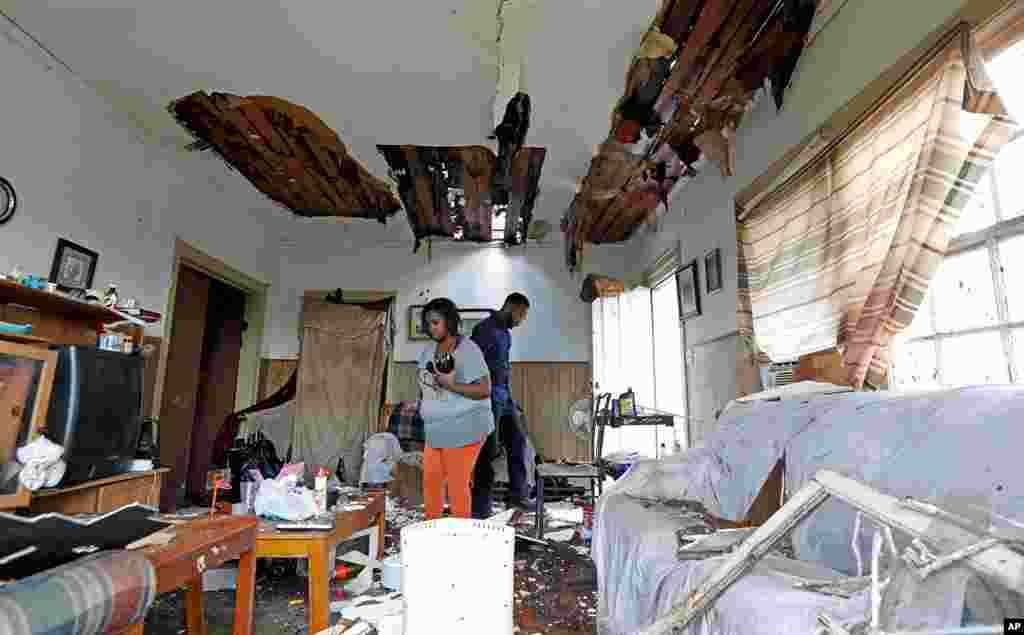 میسسیپی میں آنے والے طوفان کے نتیجے میں چار افراد ہلاک ہوئے۔