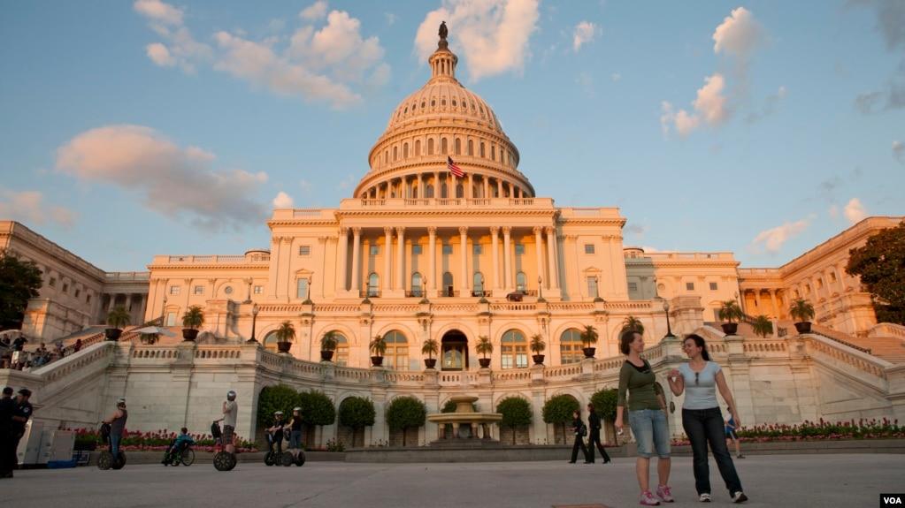 美國國會(美國之音常曉拍攝)