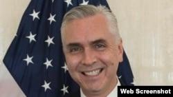 Scott Hamilton, nuevo encargado de negocios interino de EE.UU. en Cuba.