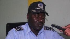 Porta-voz da polícia do Namibe Superintendente José Esteves