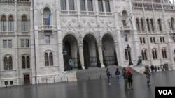布達佩斯的匈牙利議會大廈。