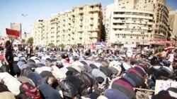 مصریان معترض سالگرد «روز خشم» را بر گزار کردند