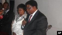 Ministro namibiano dos negócios estrangeiros, Utoni Nujoma