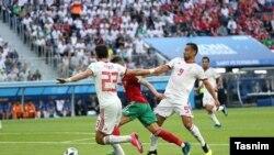 امید ابراهیمی یکی از بهترین بازیکنان ایران بود