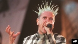 Джонни Роттен, солист группы Sex Pistols, основателей панк-движения