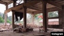 استودیوی کار «آی وی وی» در پکن خراب شد