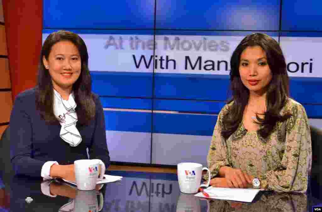 Movies with Mani and Mori teaches English idioms in a fun and lively way.