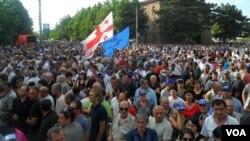 Ivanishvili Rally in Gori, Georgia