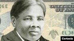 Aktivis perempuan AS, Harriet Tubman dalam uang kertas $20 (foto: dok).