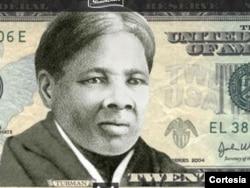harriet tubman on $20 dollars bills
