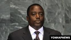 콩고민주공화국의 조셉 카빌라 대통령(자료사진)
