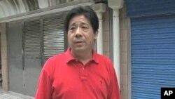 上海維權人士馮正虎(資料圖片)