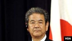 Menteri Pertahanan Jepang Toshimi Kitazawa