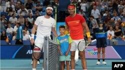 ნიკოლოზ ბასილაშვილი ATP Cup-ზე რაფა ნადალთან ორ სეტში დამარცხდა