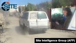 Ảnh chụp từ video tuyên truyền của nhóm Nhà Nước Hồi giáo ngày 12/3/2015 cho thấy thiếu niên trông giống như Jake Bilardi, 18 tuổi, ngồi phía sau tay lái của một chiếc xe van màu trắng.