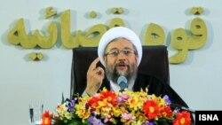 """آقای لاریجانی میگوید که گزارشهای حقوق بشری مستند به اظهارات مخالفان ایران و """"دروغ"""" است."""