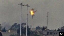 لیبیا میں لڑاکا طیارہ'مارگرایا'گیا