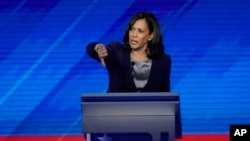 Kamala Harris se nakon prve demokratske debate kotirala kao favorit, ali joj je kasnije rejting opadao