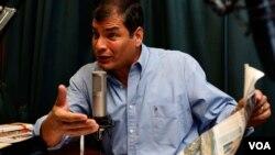 La SIP dice que en Ecuador el presidente Rafael Correa insiste en que la prensa debe ser administrada por el Estado.