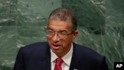 Lionel Zinsou, Premier ministre béninois, candidat à la présidentielle de février 2016.