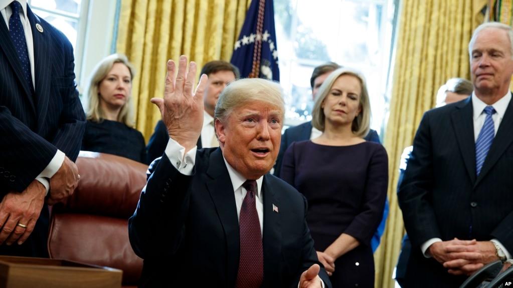 Tổng thống Trump đang chịu áp lực từ cuộc điều tra của ông Mueller