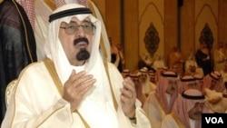 Raja Arab Saudi Abdullah (foto dokumentasi).
